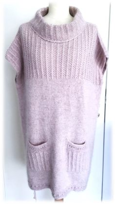Alle Opskrifter - frudams-strikkestue.simplesite.com Twists, Knit Crochet, Vest, Neckline, Pullover, Knitting, Sweaters, Crafts, Fashion