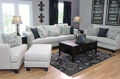 Rachael Omega Mist Sofa - Sofas - Living Room Sets - Shop Rooms | Mor  Furniture