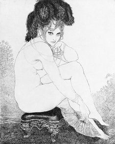 The eclectic ecstasy of an ecphorizing eccentric - Art Sharing #15: Norman Lindsay (traditional media painting & etching)