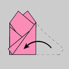 How to fold a Two Point Pocket Square taskuliinan taittelu
