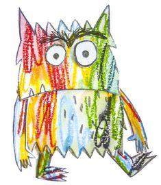 Rollenspel: Thema Het kleurenmonster – Plastificeer het kleurenmonster en zet het op een stokje en je hebt een poppenkastpop Trinidad, Seo, Activities, Feelings, Monsters, Kids Education, Colors, Teaching Emotions, Montessori Activities