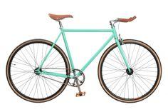 BLB fiets Handbuild custombike Celeste Groen