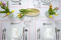 tavaszi teríték dekortapasszal  Dekorella Shop dekorellashop.hu  Washi Tape Table