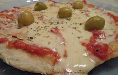 Caserissimo : PIZZA DE MOZZARELLA EN SARTÉN EN 7 MINUTOS!!!!
