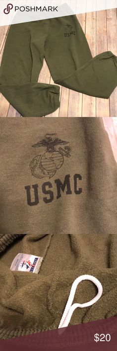 Usmc sweatpants Usmc sweatpants! Size L. usmc Pants Sweatpants & Joggers