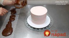 Cukrárka ukázala geniálne triky na zdobenie dezertov, za ktoré by ste si v cukrárni poriadne priplatili: Túto nádheru zvládnete celkom sami! Decorate Your Own Cake, Basic Cake, Chocolate Decorations, April Fools Day, Bubble Wrap, Buttercream Frosting, Cupcake Cakes, Fondant, Cake Recipes