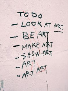 To do - ART