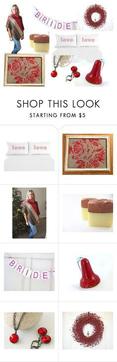 """""""Red Goodies to Give"""" by midnightcoiler ❤ liked on Polyvore featuring interior, interiors, interior design, home, home decor and interior decorating"""