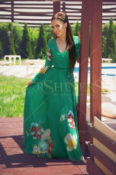 PrettyGirl Blade Green Dress