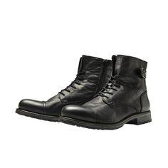 Jack & Jones Stiti Leather Boots  €94.95