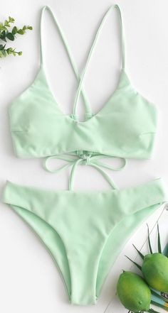 Criss Cross Textured Padded Bikini Swimsuit - Crafted from a cozy textured fabric and designed in a solid color, this two-piece swimsuit adorns w - Swimsuits For Big Bust, Cheap Swimsuits, Two Piece Swimsuits, Women Swimsuits, Summer Bathing Suits, Girls Bathing Suits, Baby Bathing, Summer Swimwear, Women's Swimwear