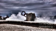 Chillidas Comb of the Wind in San Sebastian Basque Country Spain - Weston Westmoreland