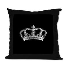 suede crown pillow ~cafe press