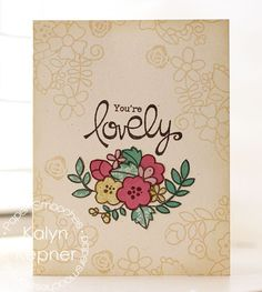 Paper Smooches Blossoming Buds stamp set  paper is love | A Craft Blog by Kalyn Kepner
