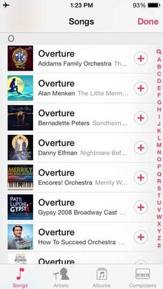 Your music library looks a lot like this. | 25 Things Only Theatre Kids Will Understand