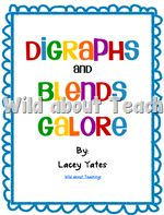 Digraphs and Blends galore. This pack includes: -A chart with corresponding pictures. -Half Page flashcards -Quarter Page flashcards -Quarter Page picture cards Teaching Phonics, Kindergarten Literacy, Teaching Reading, Teaching Resources, Teaching Ideas, Preschool, First Grade Phonics, First Grade Reading, Phonics Words