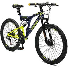"Merax 26"" Dual Full Suspension 21 Speed Mountain Bike - http://mountain-bike-review.net/products-recommended-accessories/merax-26-dual-full-suspension-21-speed-mountain-bike/ #mountainbike #mountain biking"