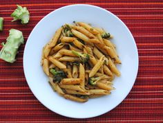 Spicy Penne with Broccoli and Garlic   Recipe Treasure   http://recipetreasure.com/2013/10/spicy-penne-with-broccoli-and-garlic/   Click for full recipe.