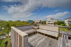 Sandbox at Salvo #293 |  Oceanside House | #views #deckview #OuterBeaches #HatterasIsland