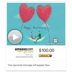 Amazon Gift Card - Email - What I Love About Us (Animated)   Read more http://cosmeticcastle.net/gift-cards/amazon-gift-card-email-what-i-love-about-us-animated-american-greetings  Visit http://cosmeticcastle.net to read cosmetic reviews