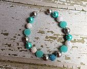 Frozen Elsa Inspired Chunky Bead Necklace