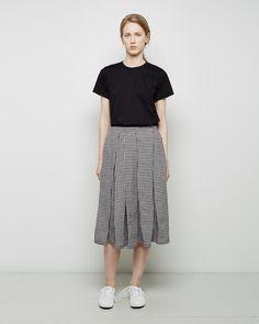 Comme des Garçons Comme des Garçons Gingham Pleated Skirt