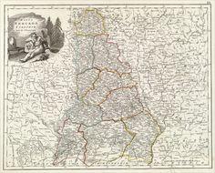 Минская губерния Vintage World Maps, War, History, Historia
