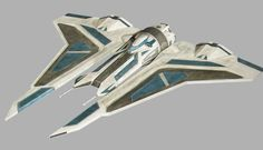 """The Kom'rk-class fighter/transport was a starship designed by rogue members of the MandalMotors corporation for use by the violent Mandalorian splinter-group known as the Death Watch. Taking it's name from the Mando'a word for """"gauntlet"""", Death Watch's leader by 21 BBY, Pre Vizsla, owned a Kom'rk-class fighter during the Clone Wars, which he named Gauntlet, and made use of as his personal transport. Over fifty meters in length, and equipped with laser cannons and powerful engines, each..."""