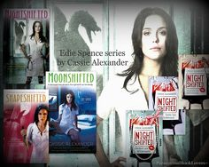 Edie Spence series by Cassie Alexander - fun reading, the series gets better with each book!