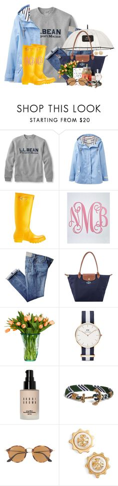 """""""Drizzly and chilly outside today🌲"""" by flroasburn ❤ liked on Polyvore featuring Joules, Personalized Planet, Kate Spade, Longchamp, Daniel Wellington, Bobbi Brown Cosmetics, Brooks Brothers, Ray-Ban and Tory Burch"""