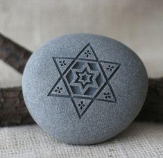 STAR of DAVID Home Decor paperweight Jewish gift von sjengraving
