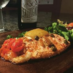 Salmone al forno siciliana (Sicilian Baked Salmon) Italian Main Courses, Aluminium Foil, Salmon Dishes, Al Fresco Dining, Baked Salmon, Mediterranean Sea, Sicilian, Prosecco, Sunny Days