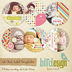 Free Cd Labels  Cd Labels Photoshop And Template
