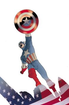 Captain America by John Cassaday