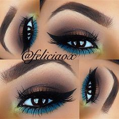 20 Perfect Club Makeup Looks Featuring Sexy Smokey Eyes! ❤ liked on Polyvore