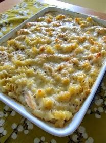 Best recipes in world: Baked Cheesy Chicken Pasta