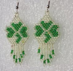 Your place to buy and sell all things handmade Seed Bead Jewelry, Bead Jewellery, Seed Bead Earrings, Beaded Jewelry, Flower Earrings, Seed Beads, Jewelery, Beaded Earrings Patterns, Seed Bead Patterns