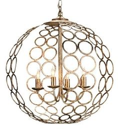 Tartufo Chandelier design by Currey & Company