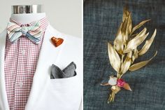 Boutonniere Pins | DIY Father's Day Party