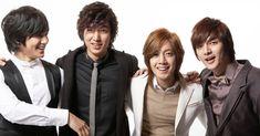 Kim Bum, Lee Min Ho, Kim Hyun Joong and Kim Joon in Boys Before Flowers