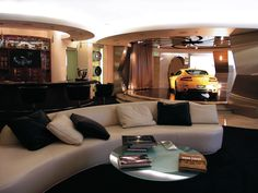 "And of course in true ""Cubby"" Broccoli style, the Galpin man cave – aka ..."
