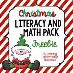 Classroom Freebies: Christmas-Themed Literacy and Math Morning Work