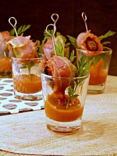 Champignon-bacon borrelhapjes