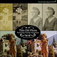 "We all own boxes (or bags, or cartons, or albums) full of ""vintage"" photos - those precious pictures that pre-date digital cameras. In this self-paced, video-based class, Jessica shows you how to restore your  vintage snaps to their original glory!"