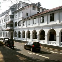 Queen's Hotel is Considered Today as a Historic Building to be Conserved and Held for all Time as a Part of the #History of #Sri_Lanka's #Central_Province.