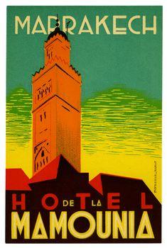 Hotel de la Mamounia - Marrakech