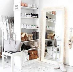 Bom lugar para organizar sapatos
