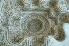 Baptistery from the 5th century AD.  Sousse Archaeological Museum, Tunisia.
