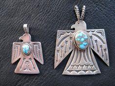 Gary Reeves Navajo Thunderbird Pendants