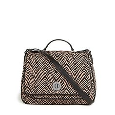Vera Bradley Zebra Turnlock Crossbody Bag *** To view further for this item, visit the image link.